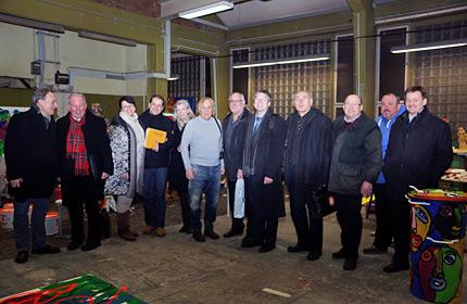CDU-Gemeinderatsfraktion HD besichtigte die Alte Feuerwache in Bergheim