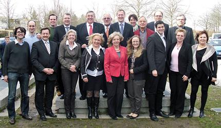 Der neue Kreisvorstand der CDU Heidelberg