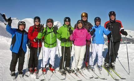 Traditionelles Skifahren von Mitgliedern der CDU-Landtagsfraktion BW