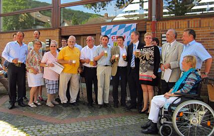 Sommerfest der CDU Rohrbach mit Mitgliederehrungen