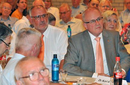 MdL a.D. Werner Pfisterer und MdB Volker Kauder