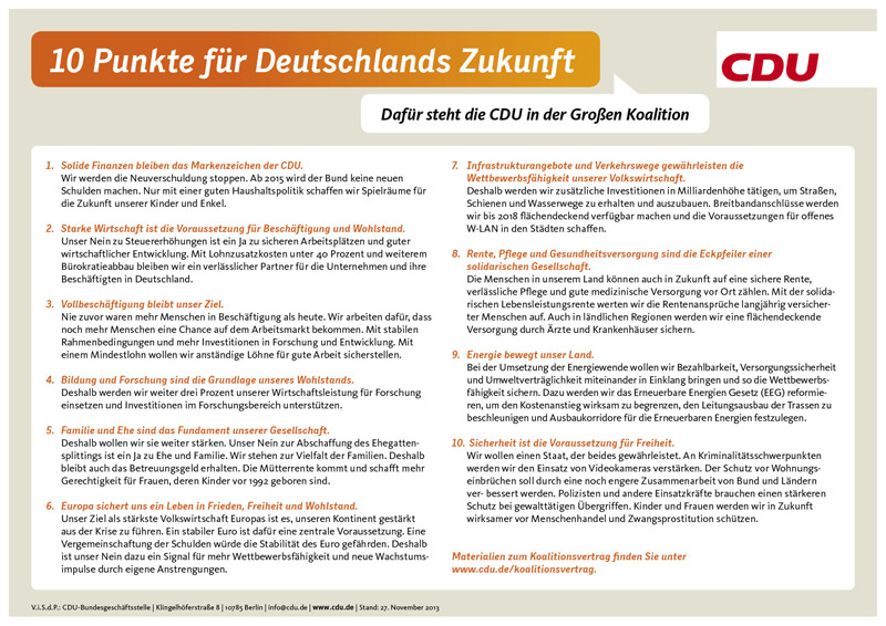 Für eine größere Ansicjht bitte klicken. Copyright: CDU Deutschlands.