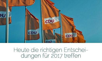 Copyright Foto: CDU Deutschlands und Junge Union Deutschlands.
