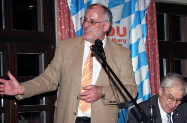 Redner am 5. März 2014: Werner Pfisterer.