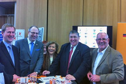 Auch die CDU Heidelberg war mit einem Informationsstand auf dem Bürgerfest vertreten.
