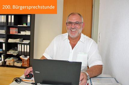 200. Bürgersprechstunde von Werner Pfisterer