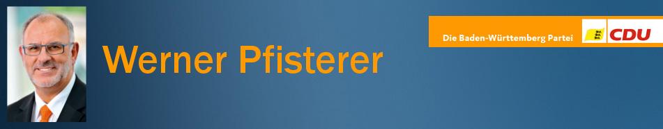 Werner Pfisterer, MdL a.D., Heidelberg, CDU